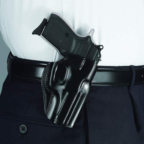 Galco Stinger Belt Holster, Black, S&W J FR 60 3in, Right SG164B - Galco Black Frame