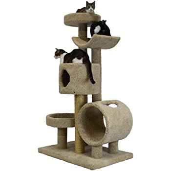 Molly and friends tunnel of fun premium for Interesting cat trees