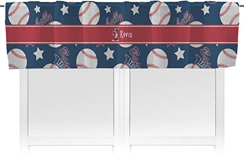 (RNK Shops Baseball Valance (Personalized))