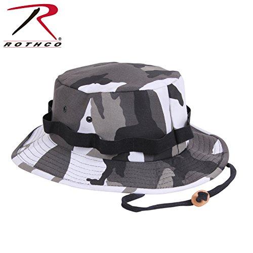 Rothco Hat Jungle (Rothco Jungle Hat, City Camo, Medium)