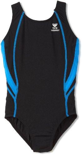 TYR Sport Boys Alliance Durafast Splice Maxback Swim Suit