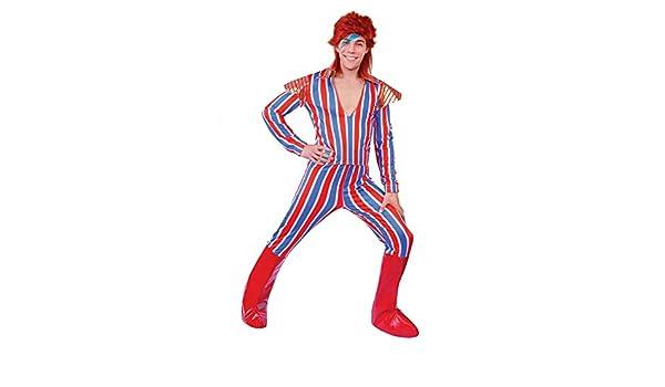 shoperama Ziggy Stardust Edad Ego David Bowie Hombre Disfraz Talla ...