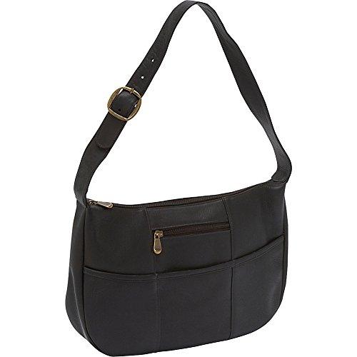 Le Donne Leather Quick Slip Shoulder Bag (Cafe)