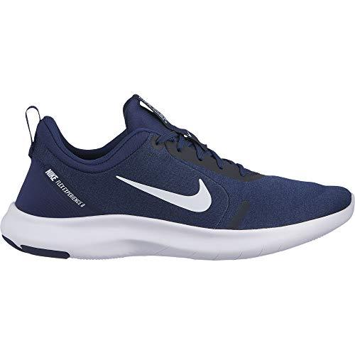(Nike Flex Experience RN 8 Men's Running Shoe, Lightweight & Flexible Knit Sneakers, Midnight Navy/White - Monsoon Blue, Size)