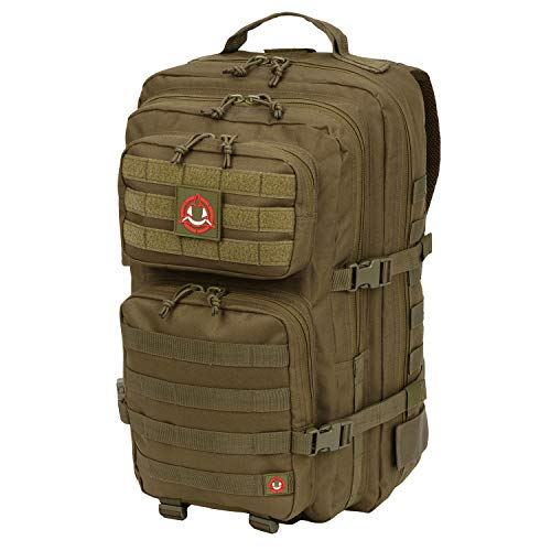 Orca Tactical Salish 40L MOLLE Large 3-Day Army Military Survival Backpack Bug Out Bag Rucksack Assault Pack (OD Green)