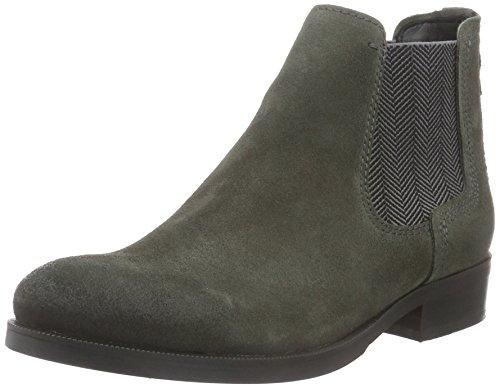 Hilfiger Denim Damen A1385vive 12b Chelsea Boots Grau (asfalto 024)