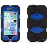 Griffin Black/Blue Survivor All-Terrain Case for iPhone 5/5s, iPhone SE - Military-Duty Case
