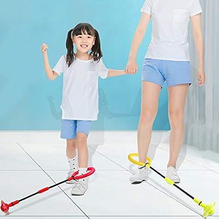 C/írculo Plegable Sports Swing Bola Balance Argolla Saltar Juguete para Ni/ños Delisouls LED Juguete Parpadeante Saltador Anillo Colorido Tobillo Saltar Saltar Cuerdas