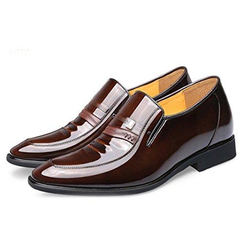 Casual Fashion de Chaussures Brown Gentleman Élégantes Business LYZGF Mariage Men's RtxwqHE6