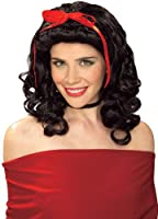 Rubie's Costume Women's Storybook Girl Black Character Wig