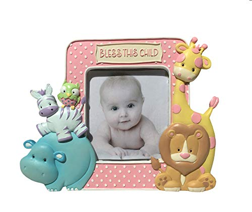 Noah's Pastel Pairs''Noah's Ark Themed'' Standing Picture Frame by Borders Unlimited