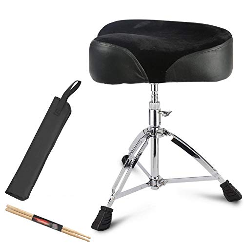 WEIYV-Barstools,bar Chair Saddle Screw Lift Drum Stool Drum Drum Stool Drum Drum Stool Children's Drum Stool Adult Universal Drum Stool Can Lift Bold Heightening (Color : Pack, Size : 45-68cm) (Oak Bar Brass Stool)