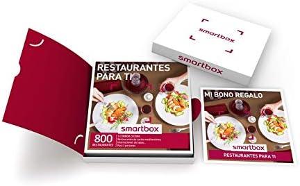 Smartbox Restaurantes para Ti, 800 Restaurantes de Cocina Mediterránea, Internacional y de Tapas: Amazon.es: Deportes y aire libre