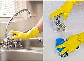 SGLI Guantes de Goma de nitrilo quehaceres domésticos Limpieza de ...