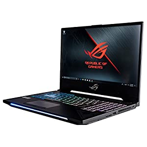 "CUK ROG Strix Scar II GL504GS VR Ready Gaming Laptop (Intel 8th Gen i7-8750H, 16GB RAM, 500GB SSD, NVIDIA GTX 1070 8GB, 15.6"" 144Hz Full HD IPS, Windows 10) Slim Bezel Gamers Notebook"