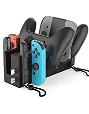 Bestand Switch Charging Dock Station 4 in 1 for Nintendo Switch Joy-Con Controllers & Nintendo Switch Pro Controller