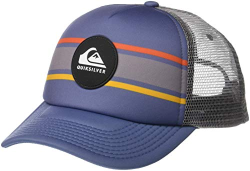 Quiksilver Men's Seasons Debate Trucker HAT, Stellar ()