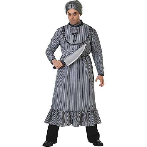 Psycho Costume, Mom,Grey,Standard ()