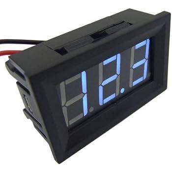 Phenomenal Smakn 3 Digits 0 56 3 Wire Dc 0 100V Blue Led Digital Voltmeter Wiring 101 Ferenstreekradiomeanderfmnl