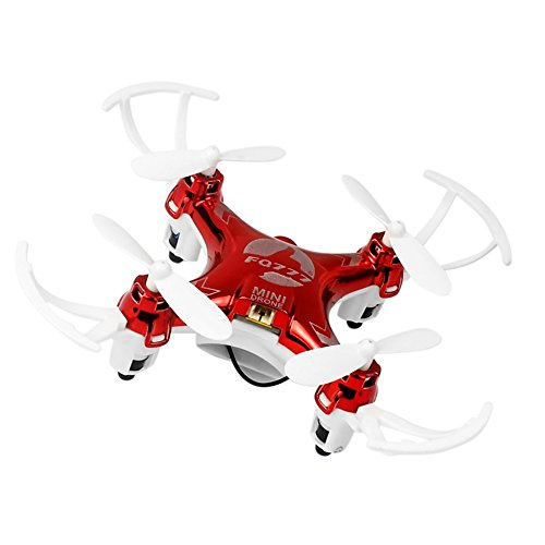 KAIM 2.4GHz 4CH 6 Axis Gyro Mini RC Racing Quadcopter 30W HD Camera WiFi FPV Real Time Transmission-Red by KAIM