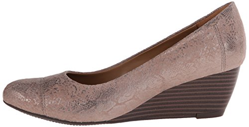 1604a62d4a590 Clarks Women's Leather Brielle Chanel Wedge Pump - Buy Online in ...