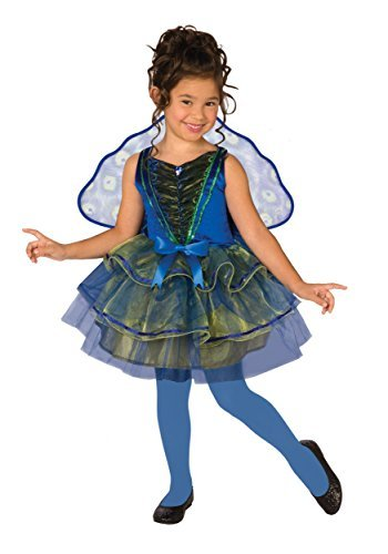 Buyseasons Pretty Peacock Child Costume 4-6 Sm by BUYSEASONS
