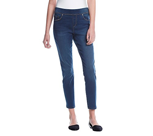 Gloria Vanderbilt Petites' Avery Slim Pull On Pants Macdougal 6P