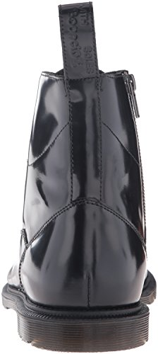 Dr. Martens Winchester Black Polished Smooth, Botas para Hombre, Negro Negro (Black)