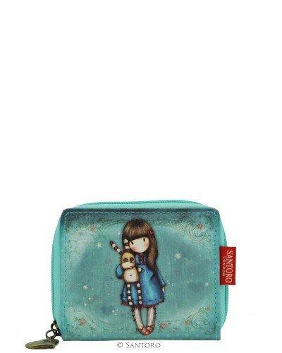 Gorjuss Wallet - Mini Zip Wallet - Hush Little Bunny