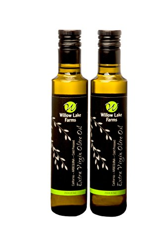 Willow Lake Farms Cold Pressed Extra Virgin Arbequina Olive Oil Two Pack 250ml Bottles
