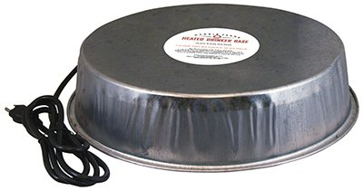 Harris Farms Heated Poultry Drinker Base Waterer Base