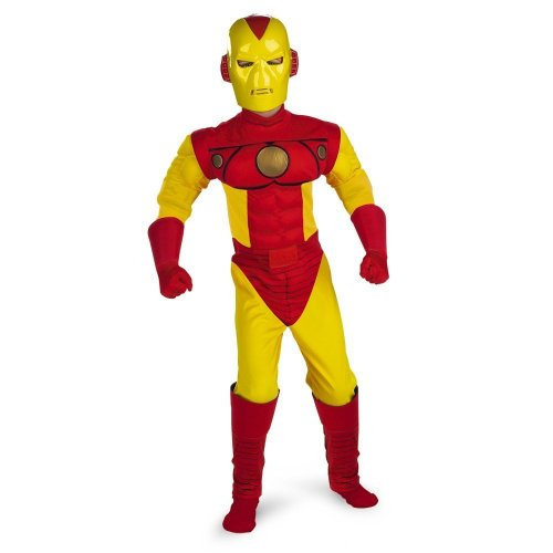 Iron Man Muscle - Size: Child M(7-8) -