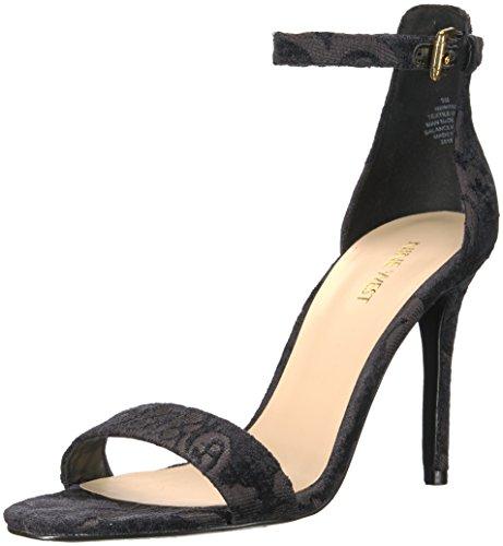 Jacquard West Sandal Nine Women's Mana Black TxYXYw