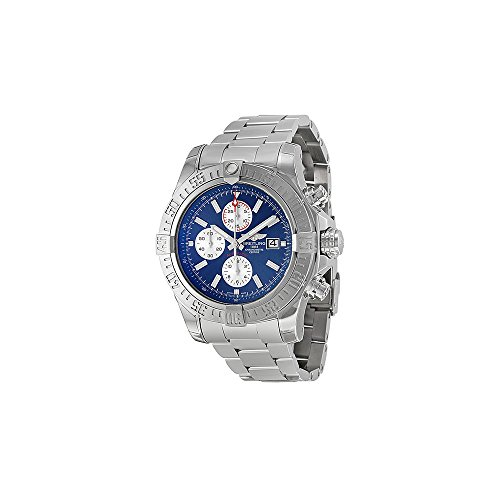Breitling Men's BTA1337111-C871SS Super Avenger II Analog Display Swiss Automatic Silver Watch