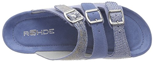 Bleu Rohde Femme Mules Jeans 55 qg1CZrgXw