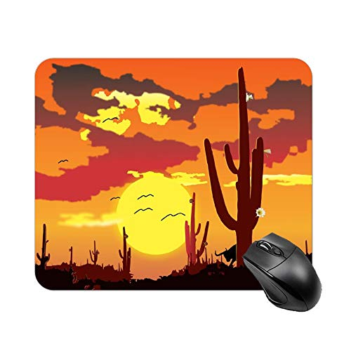 FGN Northeast Brazil Backcountry Caatinga Customized Non-Slip Rubber Mousepad Gaming Mouse -