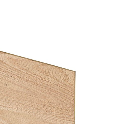 Unfinished Oak Plywood Toe Kick Plates for Under Kitchen Cabinets, 29 Inches x 4 Inches, 1/2