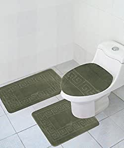 USD20 Amazon Gift Card Wedding Registry : Amazon.com: 3 Piece Bath Rug Set Pattern Bathroom Rug (20