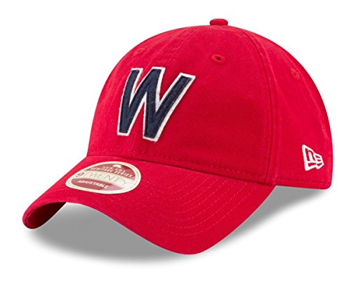 - New Era Washington Senators MLB 9Twenty Cooperstown Rugged Patch Adjustable Hat