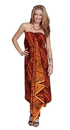 1 World Sarongs Womens Traditional Indonesian Batik Sarong / Assorted Styles
