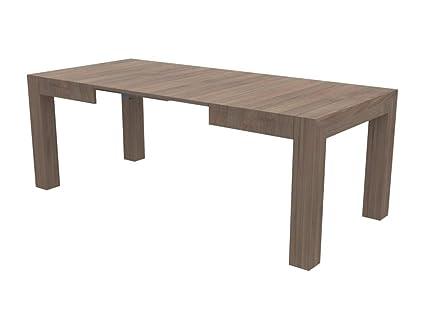 Ve tavolo allungabile felix con porta allunghe dimensione