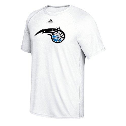NBA Orlando Magic Men's Phrase Hat Hook Climalite Ultimate Tee, Large, White