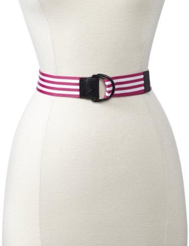 adidas Golf Women's Webbing Belt, Bahia Magenta, Adjustable