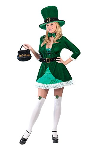 Luscious Leprechaun Adult Sm-md St. Patrick's Day Costume