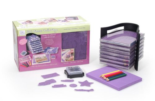 Darice 50510 See-D's Stamp Kit with 262 Stamps and Storage Tower ()