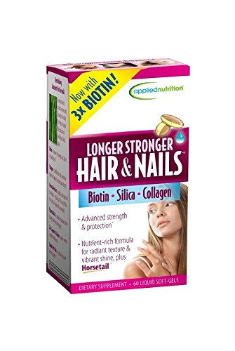 Applied Nutrition Longer Stronger Hair And Nails 60 Count Pack 2