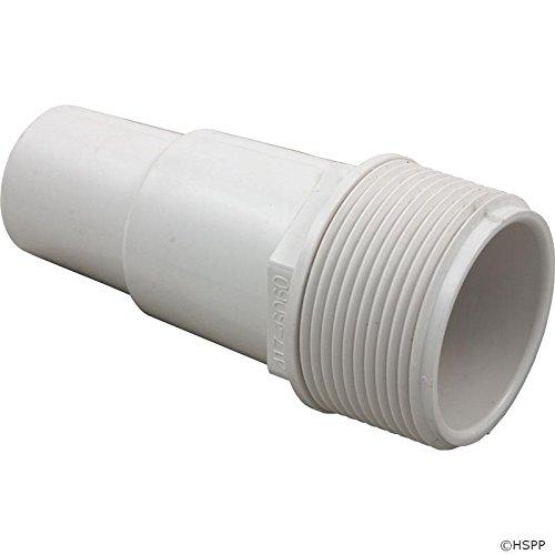 "Waterway Plastics 806105085993 W Hose Adapter 1 1/2""Mpt X (1 1/4""/1 1/2"") Hose Fitting"
