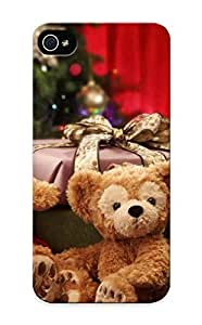 New Diy Design Holiday Christmas Seasonal Bears For Iphone 5/5s Cases Comfortable For Lovers And Friends For Christmas Gifts