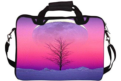 Snoogg Sky View 15 Gedruckt Notebook-Tasche mit Schultergurt 15 bis 15,6 Zoll