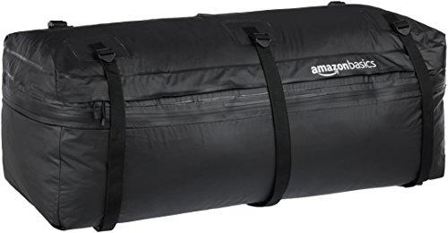 - AmazonBasics Expandable Hitch Rack Cargo Carrier Bag, Black, 9.5 Cubic Feet, Expandable to 11.5 Cubic Feet